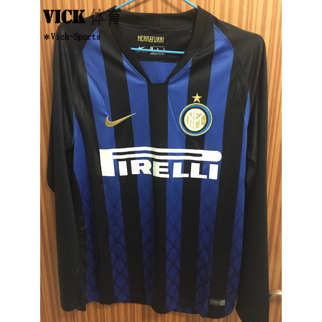 online store d2567 9caa6 2019 Top Quality Inter Milan Football Long sleeve Home Jersey (Print Name