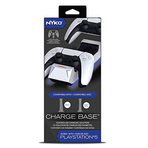 NYKO CHARGE BASE FOR PS5/XBOX SERIES CONTROLLERS
