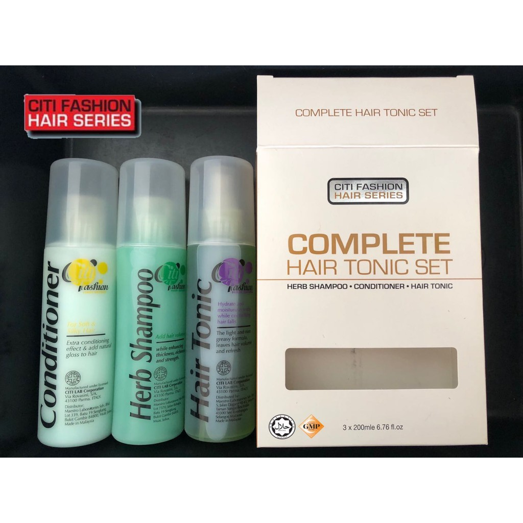 Citi Fashion Complete Hair Tonic Set (HALAL)
