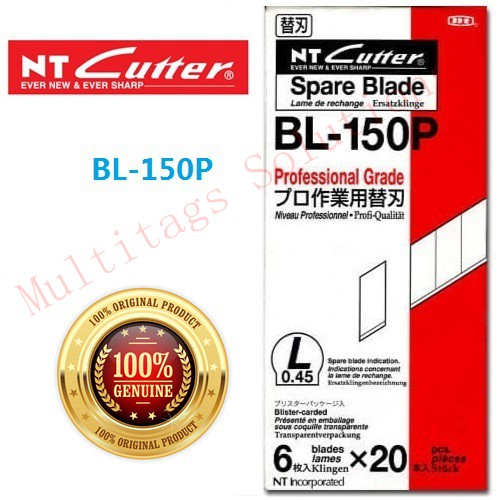 NT Cutter Spare Blade BL-150