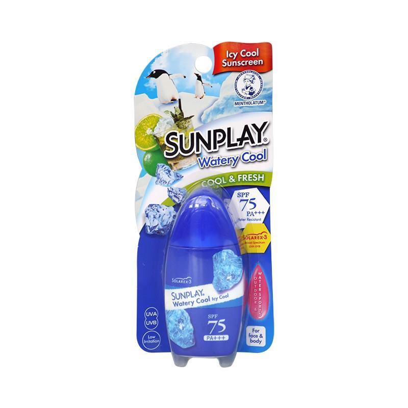 Sunplay Watery Cool Sunblock for Face SPF75 35g (NOT OILY)