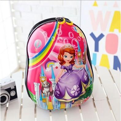 Cartoon Themed Fluffy Kid Backpack + Free STABILO 1Pcs BOSS Original  Highlighter  6426e73635123