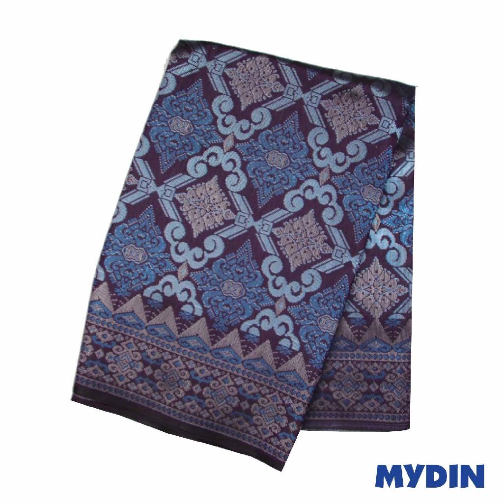 "Men Sampin - Blue On Purple with Designs (2.25m X 36"") 0819PECDD01 #Raya"