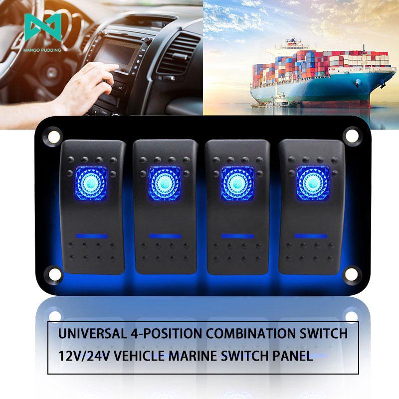 Toggle Switch 12V/24V Universal Circuit Breaker Boat