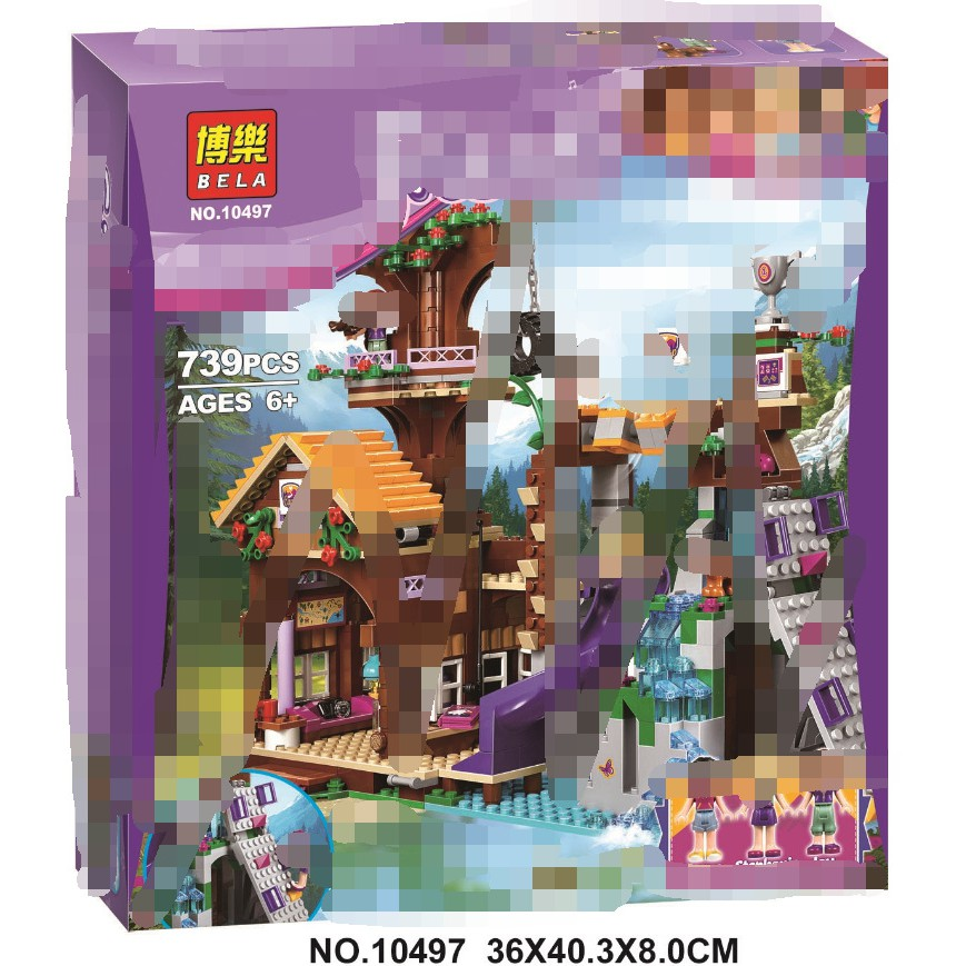Toys & Hobbies City Girl Figure Small Bricks Educational Building Blocks Toy For Children Friends Adventure Camp Tree House Compatible Legoing Model Building