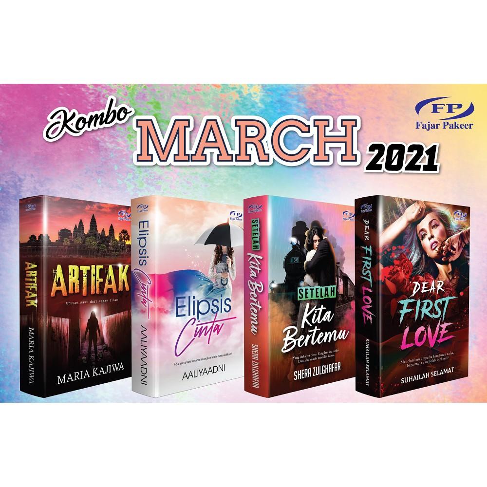 Novel: KOMBO MAC 2021 - ARTIFAK + DEAR FIRST LOVE ...