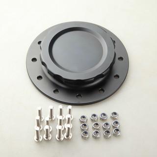 "For JAZ Fuel Cells Black 4/"" OD Billet Aluminum Fuel Cell Cap Assembly"