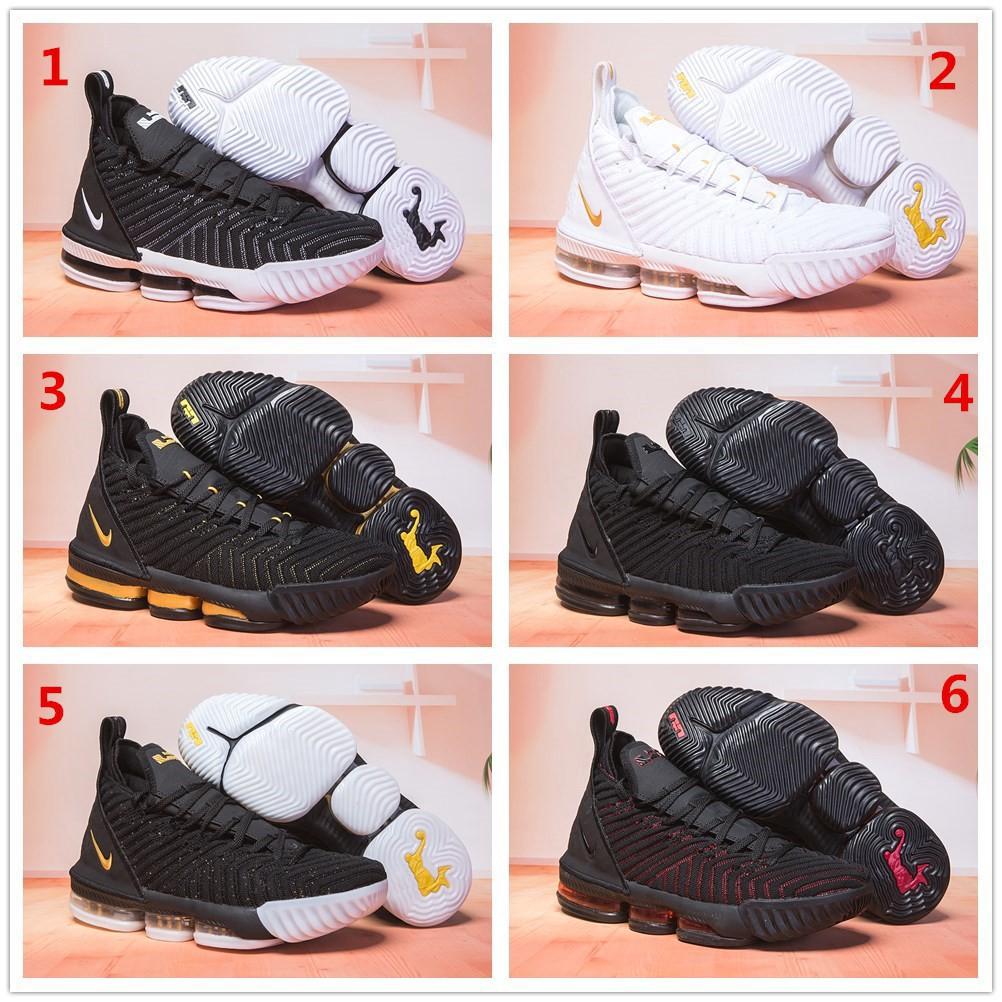 best website 9e6e5 f4c2e Ready stock 27 colors Nike Lebron James 16 LBJ16 Men's Basketball shoes