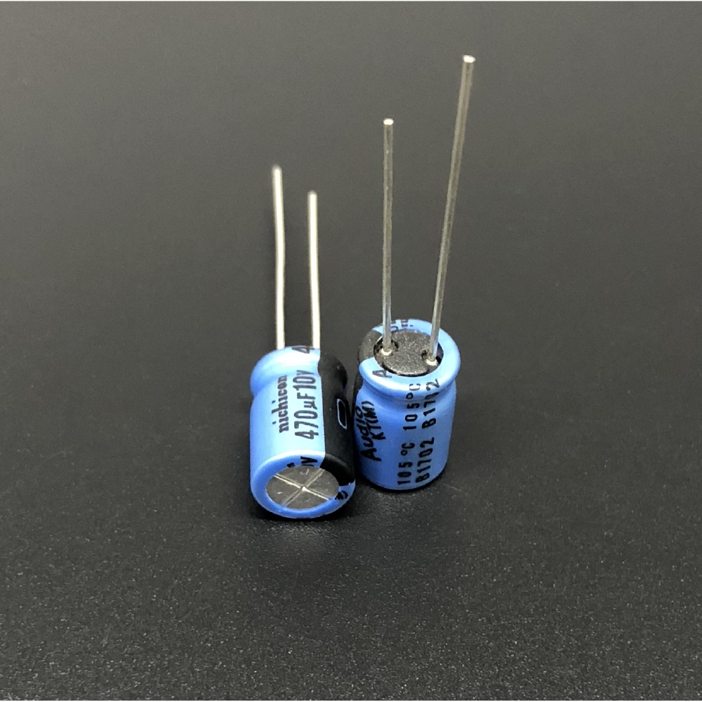 10Pcs//50Pcs 470uF 10V Nichicon KT 8x11.5mm 10V470uF HiFi Audio Capacitor