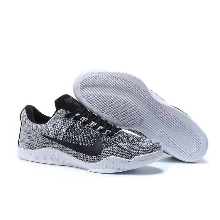 Sangrar tomar hospital  Nike Kobe 11 Elite Low Oreo White Black | Shopee Malaysia