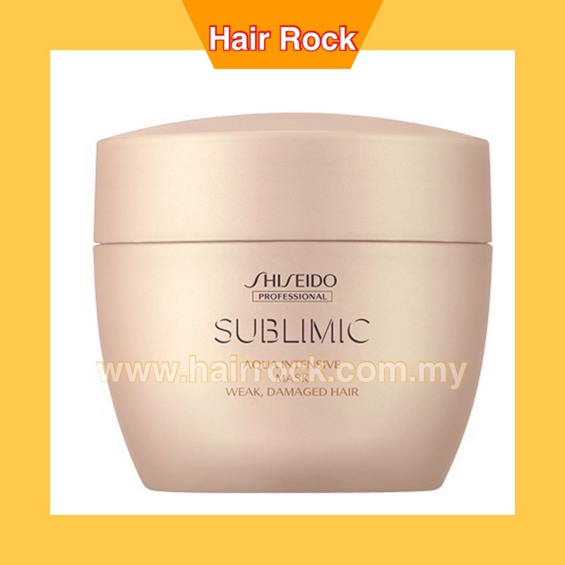 Shiseido SMC AQUA INTENSIVE MASK (WEAK, DAMAGED HAIR)