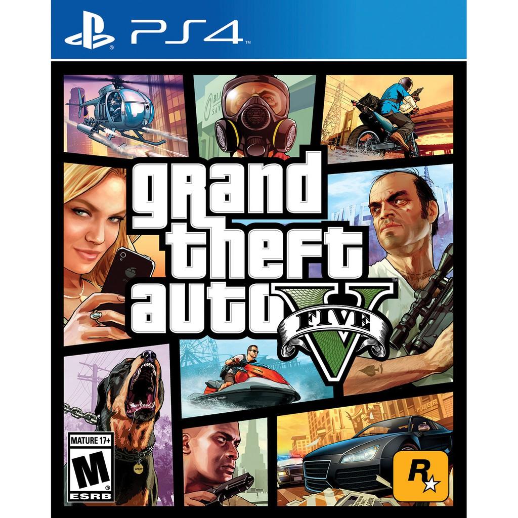 PS4 Grand Theft Auto V / GTA V (R2 English)(R3 ENG/CHINESE)(New)