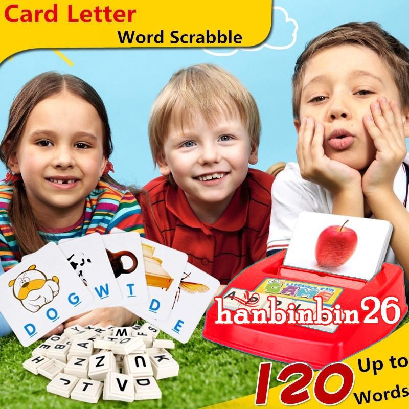 BღBღHot Early Educational Toy Gift Fun Learning English Spell the Word for