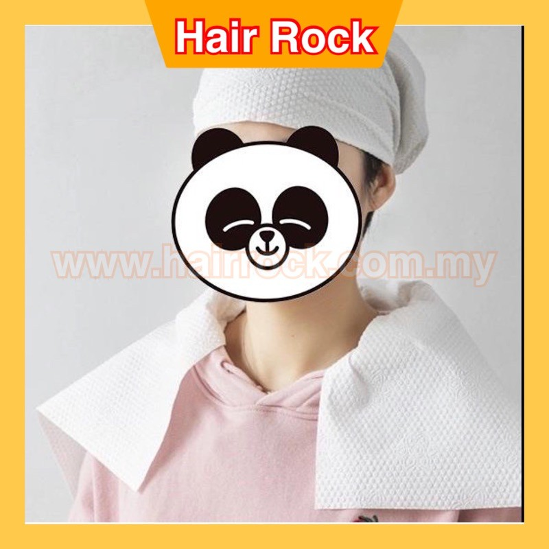 Disposable Towels Non Woven Fabric Hair / Facial / Foot Towels 35cm x 70cm