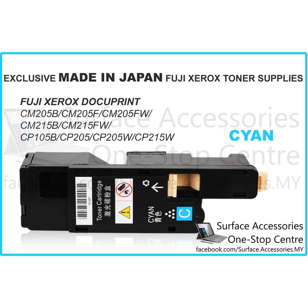 Fuji Xerox Cp115w Docuprint Cp Cm 115w 116w 225w 225fw Black Cyan Magenta Yellow Shopee Malaysia