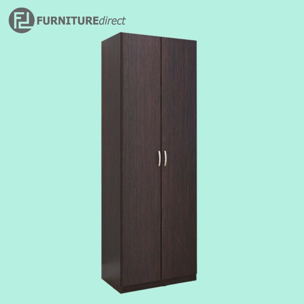 Furniture Direct Escot 2 door wardrobe/ almari baju/ almari pakaian