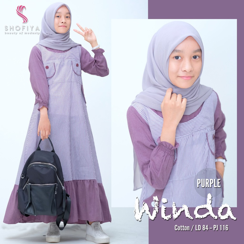 Gamis Teen (WINDA) by Shofiya