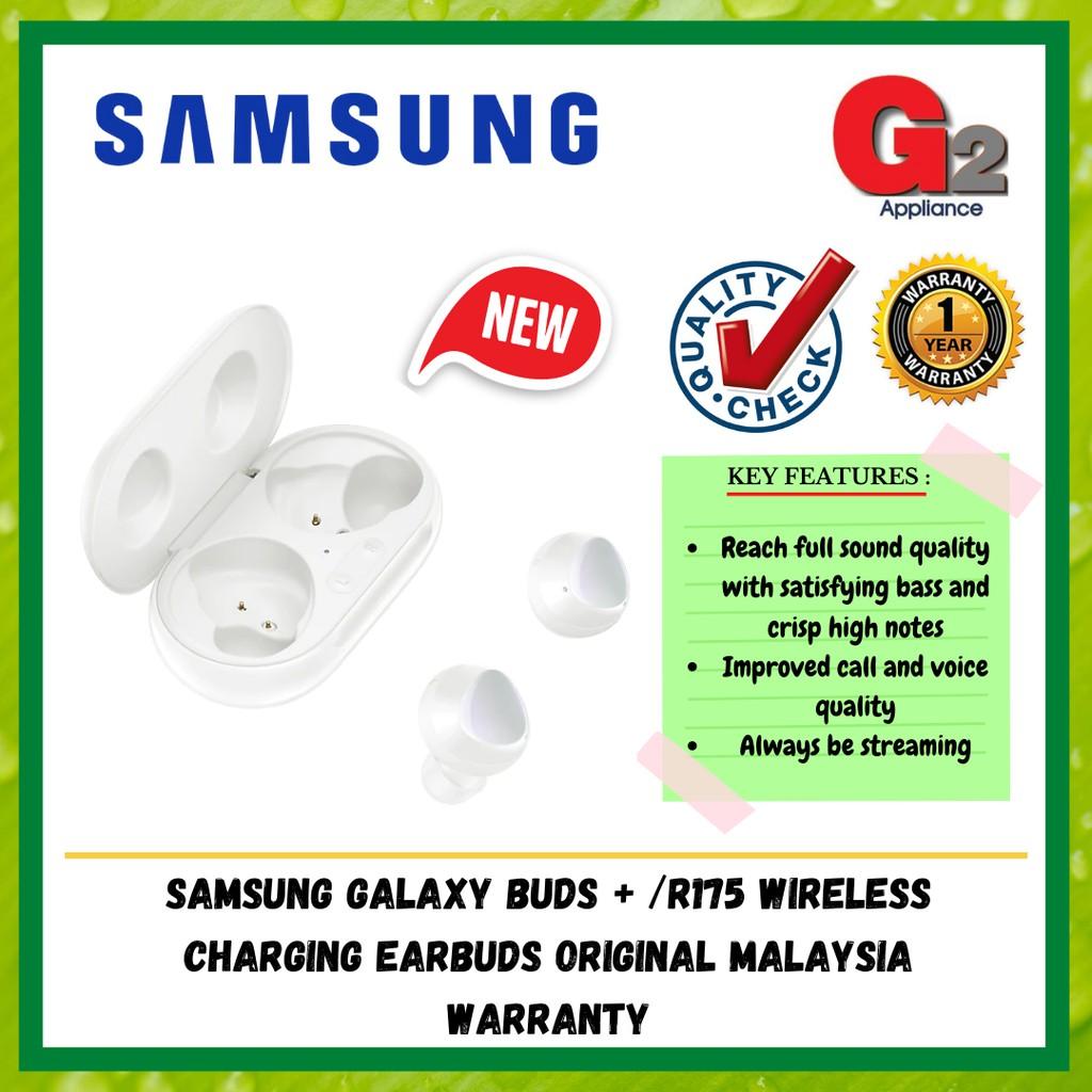 Samsung Galaxy Buds + /R175 Wireless Charging Earbuds Original Malaysia Warranty