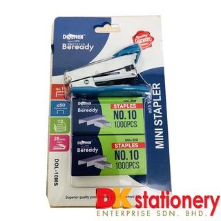 Environmental Stapleless Stapler Paper Binding Binder Office Home Supplies tr3