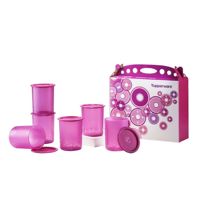 Tupperware Camellia One Touch Gift Set 1.25L 1PCS