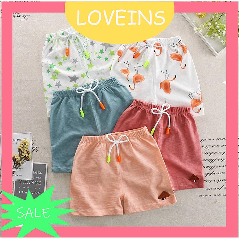 527323f253 Baby Casual Cotton Linen Shorts Girls Boy Fashion Solid Color Shorts Pants