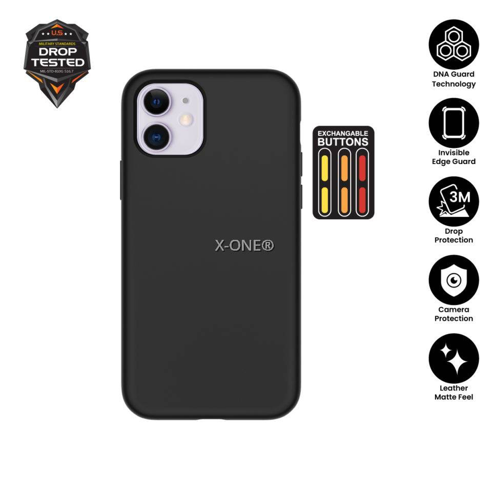 X.One® iPhone X, Xs, Xr, Xs Max, 11/11 Pro, Max, 12/12 Pro, Max Shock Dominator Dropguard 3s Case Xone