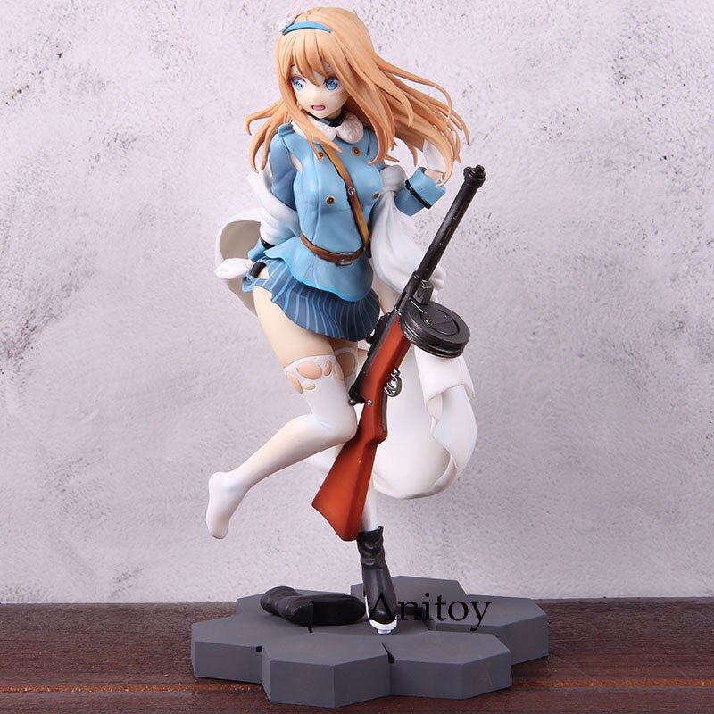 Girls/' Frontline Suomi KP-31 1//7 Scale PVC Girls Frontline Anime Action Figure
