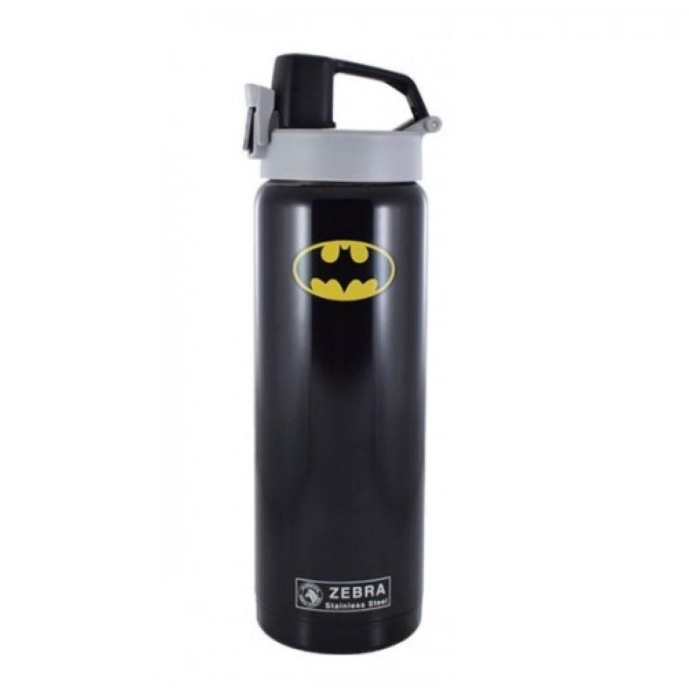Zebra Vacuum Bottle - Batman/Superman (0.6L)