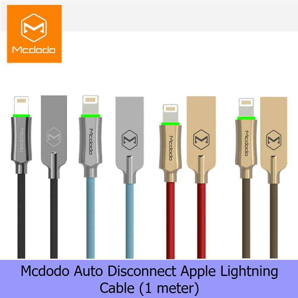 Cellphones & Telecommunications Mcdodo Micro Usb Cable For Samsung Xiaomi Huawei Fast Charging Auto Disconnect Usb Data Cable With Led Microusb Charging Cable Up-To-Date Styling Mobile Phone Cables
