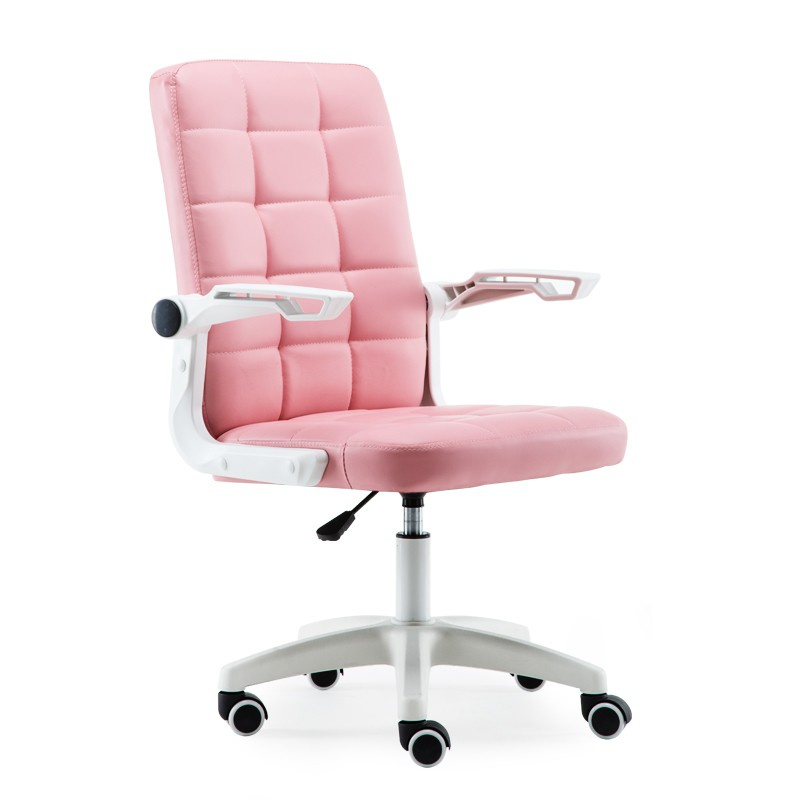 Leather Swivel Office Chair Le
