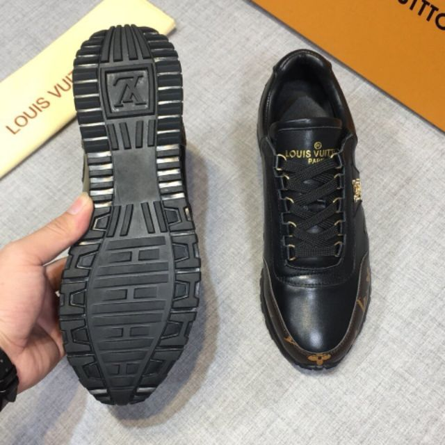 High-end Louis leather men's shoes, fashionable stitching shoes, outdoor sports shoes 38-45 EURO