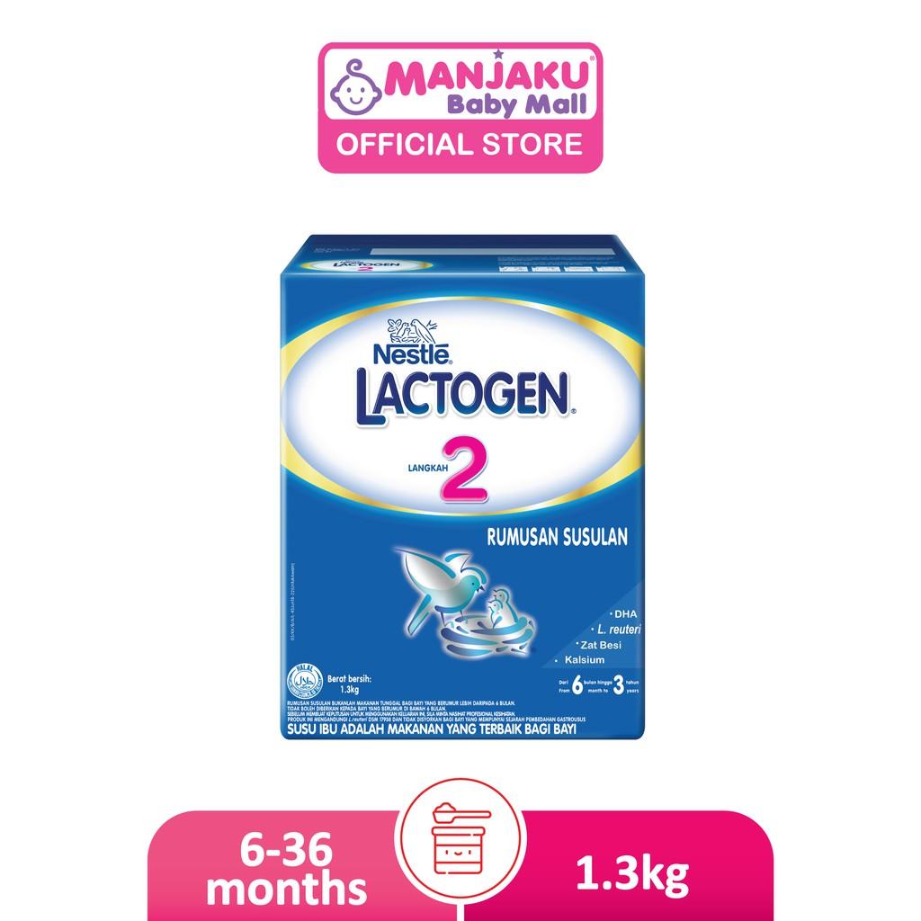 Nestle Lactogen Step 2 (2 x 650g)