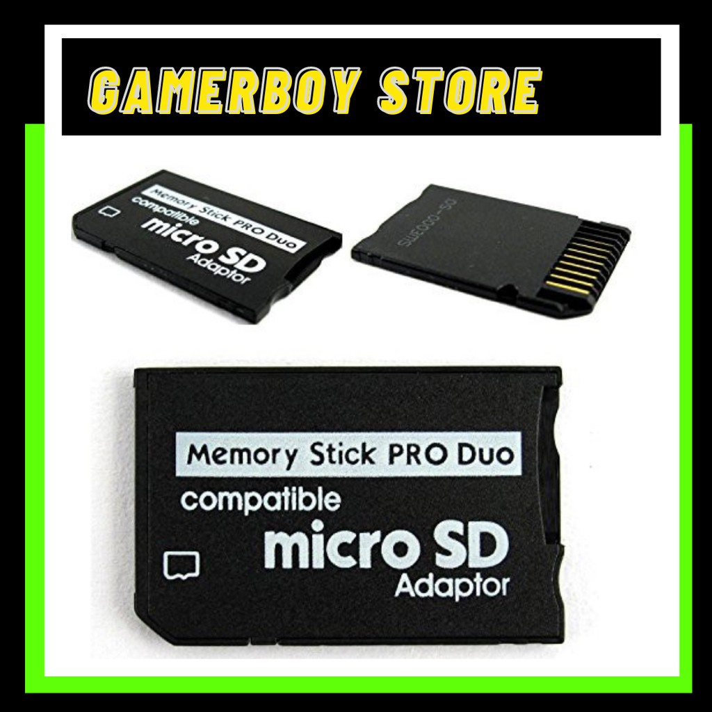 MICRO SD TO MEMORY STICK PRO DUO READER for SONY PSP