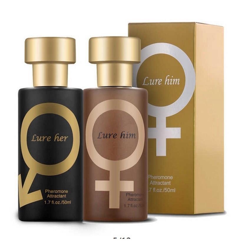 50ml Pheromone Flirting Perfume for Men Women Sex Temptations Fragrance