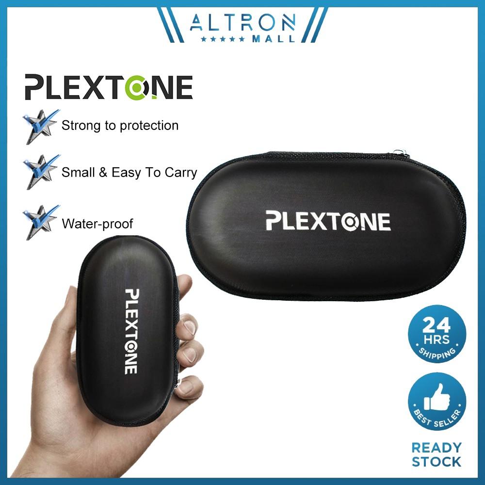 PLEXTONE NYLON BAG WATERPROOF PROTECTION for earphone headphone PORTABLE POUCH BAG CASING EARPHONES HEADPHONES Case