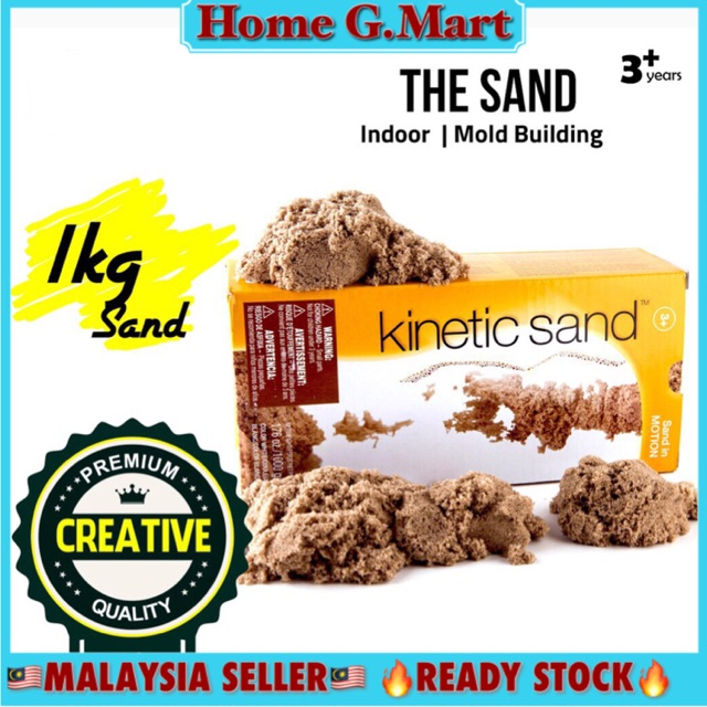MALAYSIA - Kinetic Sand in Motion - Natural Sand Color pasir 1kg | Shopee Malaysia