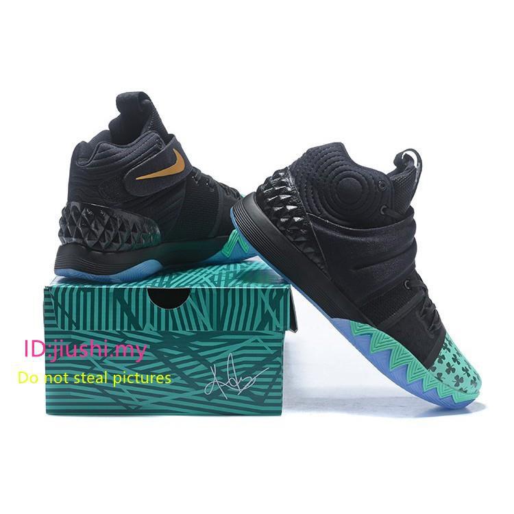 1d86258a3724 Nike Kyrie S1 Hybrid Celtics Shamrock PE Black Green Gold