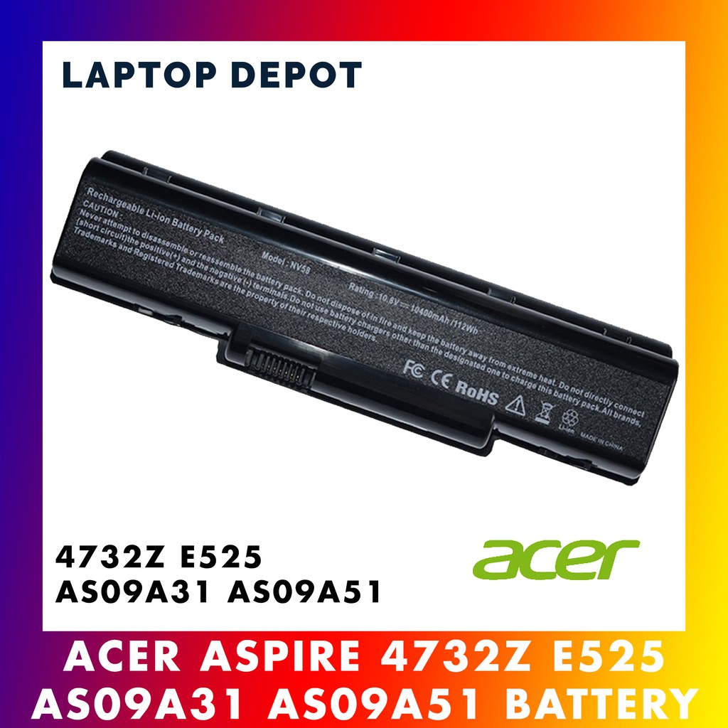 Acer Aspire 5532 5517 4732Z E525 AS09A31 AS09A51 Battery