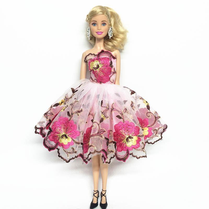 """Blue Party Dress Fashion Clothes For 11.5/"""" Doll Dresses 1//6 Outfits Kids Toy"""