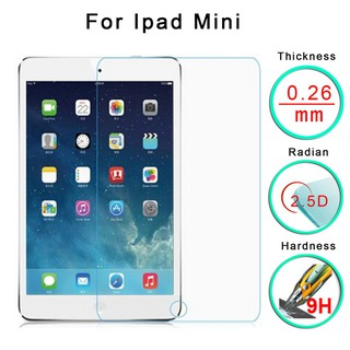 For iPad Mini 1 2 3 Thin 9H Premium Tempered Glass Screen Protector Film Durable | Shopee Malaysia