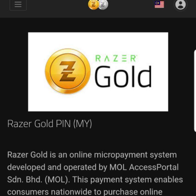 Rm100 Razer Gold Pin (9% Discount)