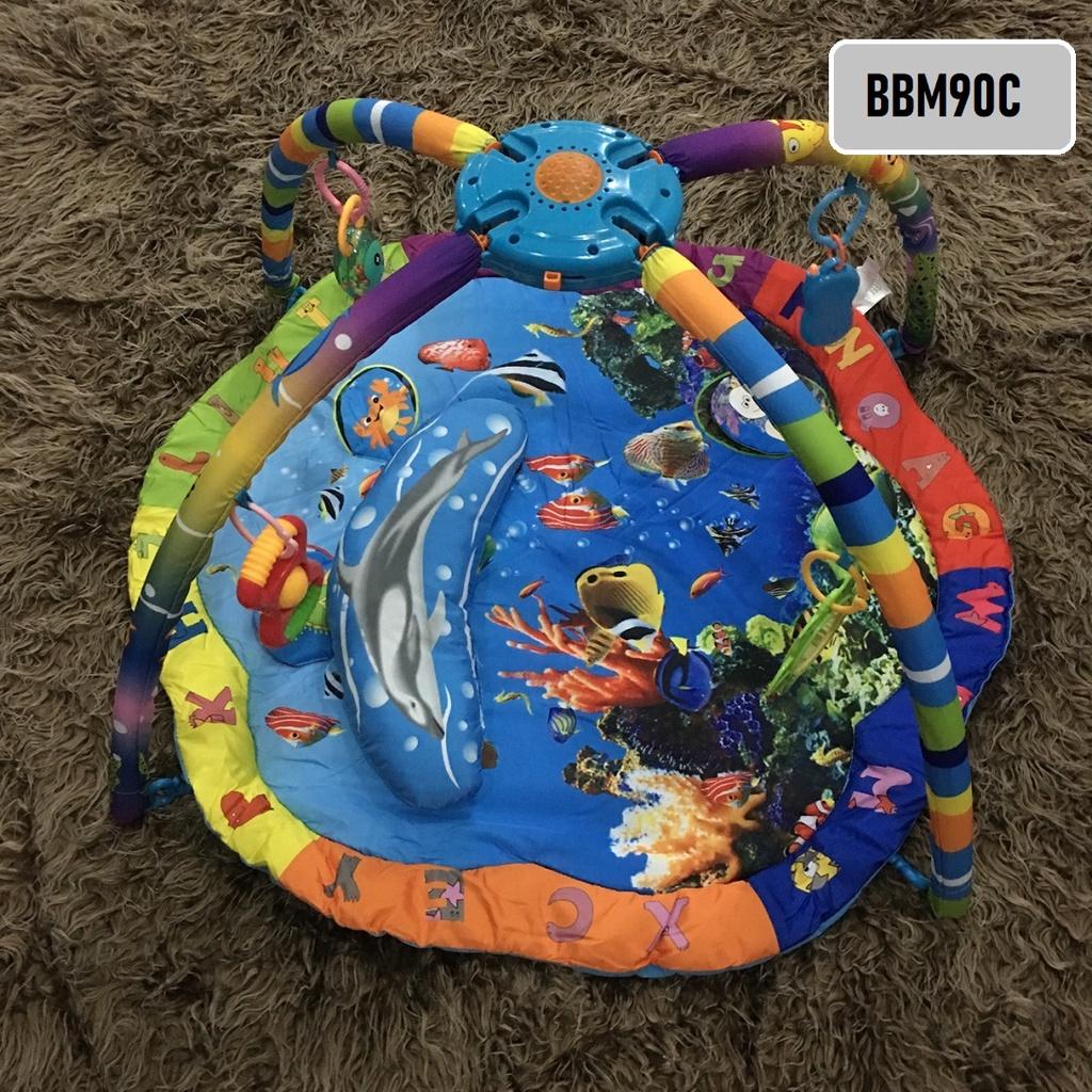 [ READYSTOCK ]  Baby Crawling Musical Ocean Mat Education Cartoon Playmat Activity Newborn Kid Jualan Murah Cute Cartoon