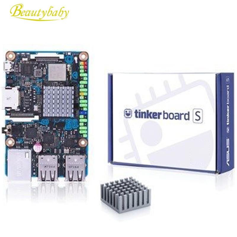 Tinker Board S Rk3288 Soc Onboard 16Gb Emmc 1.8Ghz Quad Core Cpu 2Gb Lpddr3