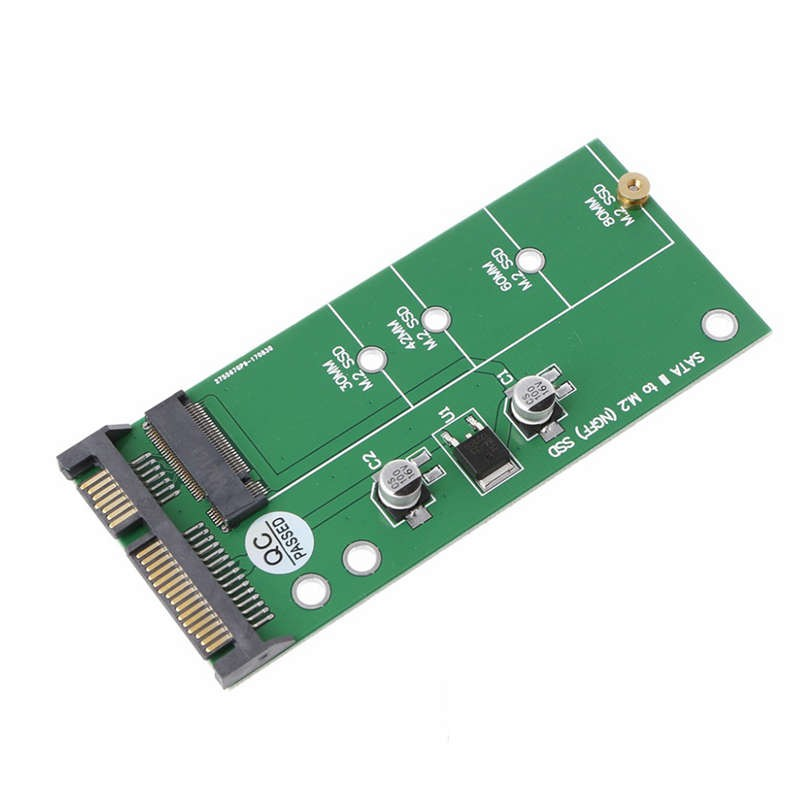 Ngff ( M2 ) Ssd To 2.5 inch Sata Adapter M.2 Ngff Ssd To Sata3 Convert Card  For | Shopee Malaysia
