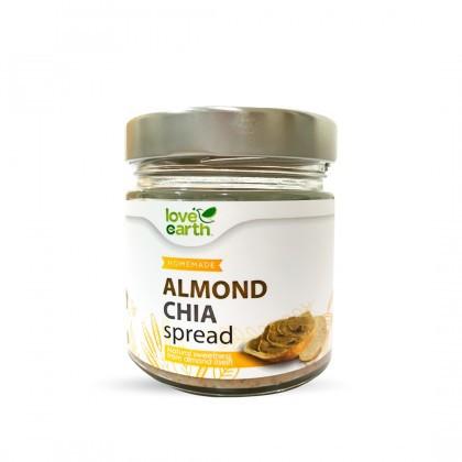 Love Earth Almond Chia Spread 175g 乐儿奇亚籽巴旦木酱 175公克(罐装)