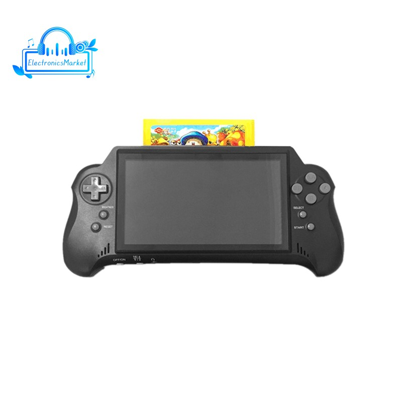 7 Inch Handheld Console with Card Support 4K HD HDMI TV Output/2 Player Game for FC/GBA/NES/for Ki