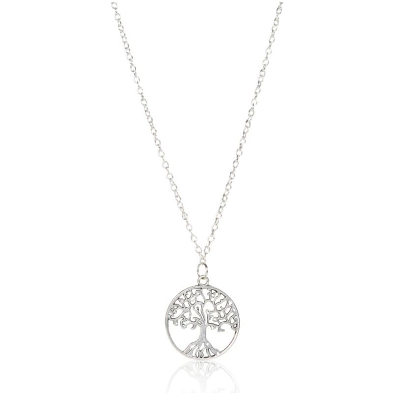 8a23babdd24b3 Ready Stock❤️Vintage Life Tree Pendant Item Personality Peace Tree Necklace