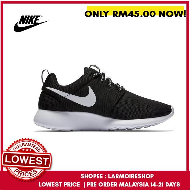 quality design e3feb 1e36f 🇲🇾🇲🇾 Nike Roshe Run One Unisex Running Sport Shoes