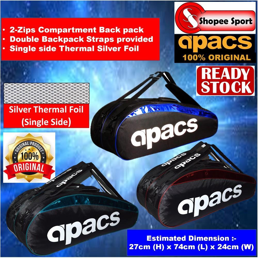 Big Badminton bag shoulder men's knapsack / badminton racket bag sports backpack | Shopee Malaysia