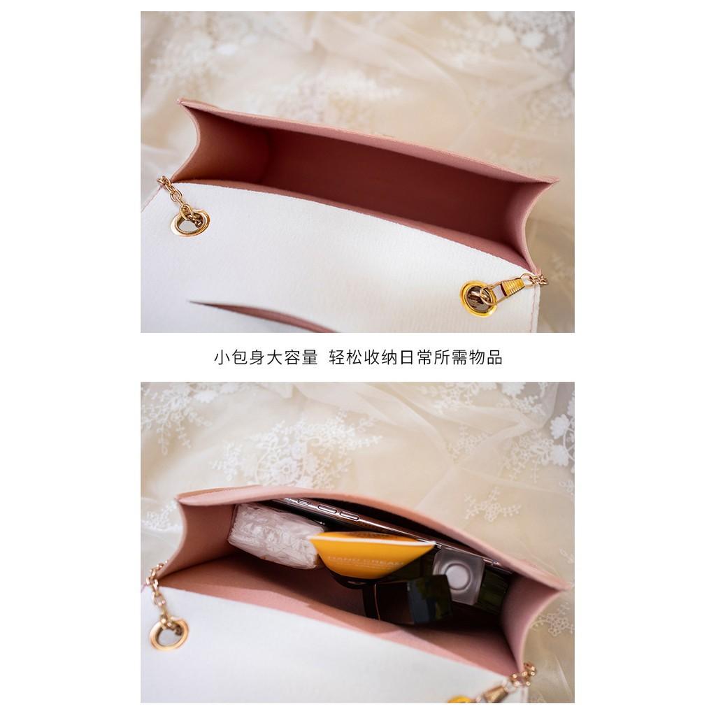 EVON PREMIUM SB024 LADY SLING BAG HANDBAG CARRY BAG SHINY DESIGN PU CG DETACHABLE STRAP BIG CAPACITY MAGNET BUTTON CLIP